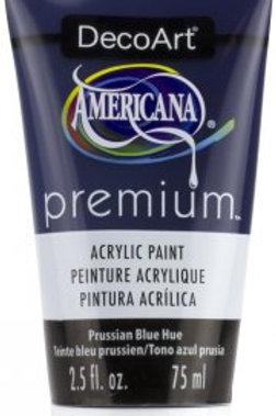 DecoArt Premium Acrylic Paint - Prussian Blue Hue