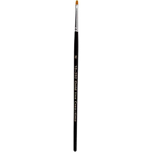 Gold Line Flat Brush Size 2