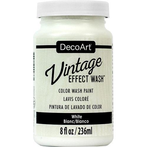 DecoArt Vintage Effect Wash - White
