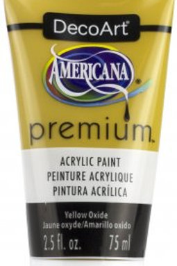 DecoArt Premium Acrylic Paint - Yellow Oxide
