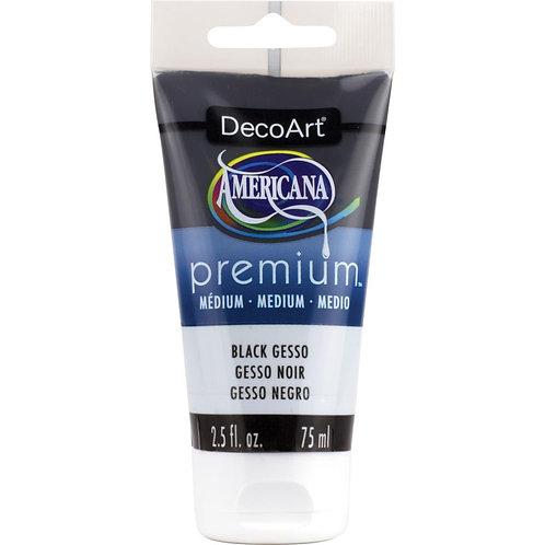 DecoArt Premium Acrylic Medium - Black Gesso