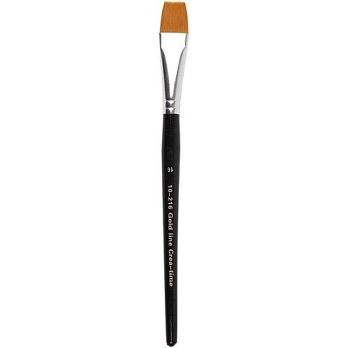 Gold Line Flat Brush Size 16