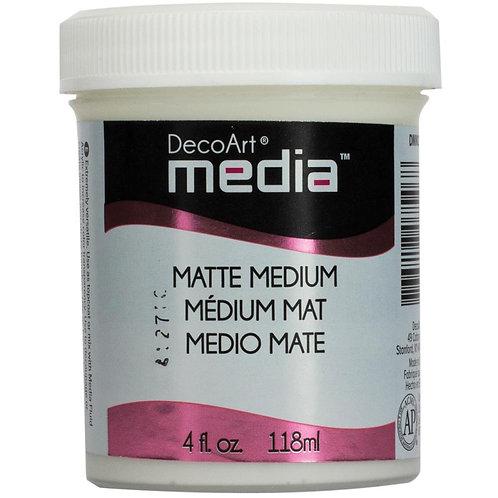 DecoArt Media Matte Medium - Clear