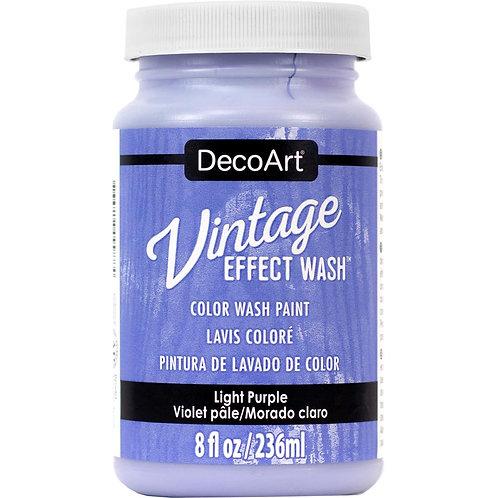 DecoArt Vintage Effect Wash - Light Purple