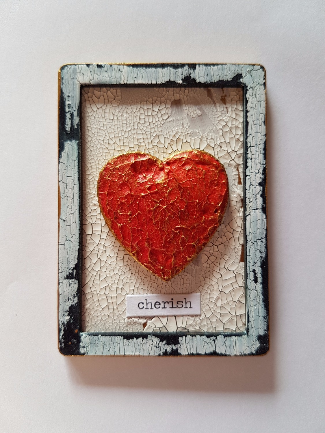 ATC - Framed Heart