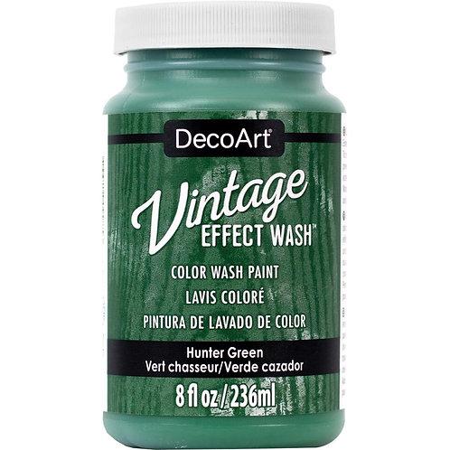 DecoArt Vintage Effect Wash - Hunter Green