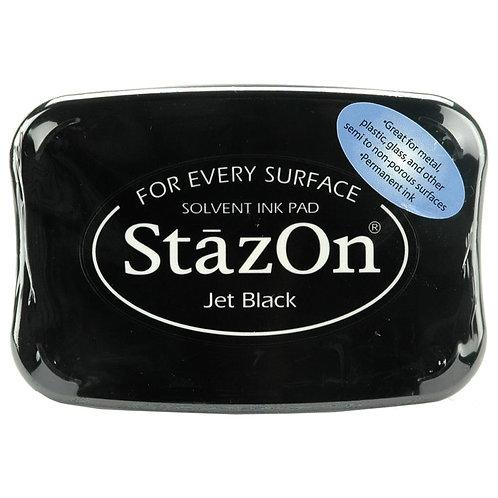 Tsukineko Staz-On Ink Pad - Jet Black
