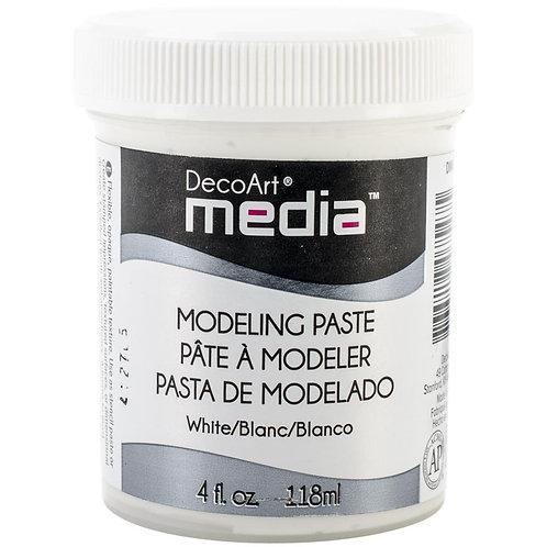 DecoArt Media Modeling Paste - White