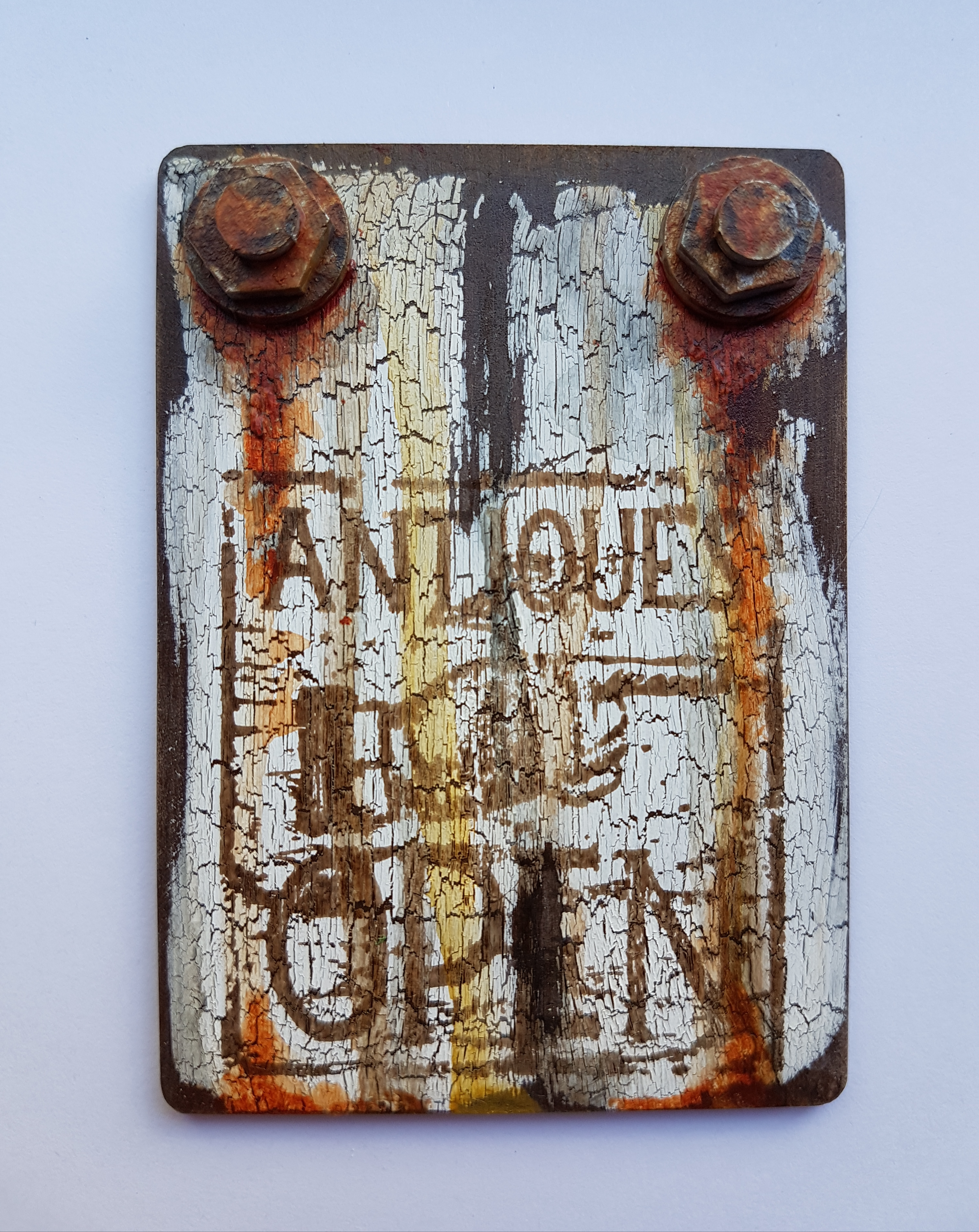 ATC - Antique Sign