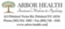 Arbor Health logo and address.PNG