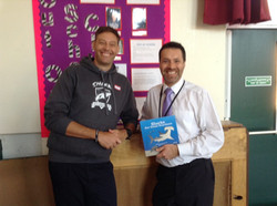 Shark book donated to schools