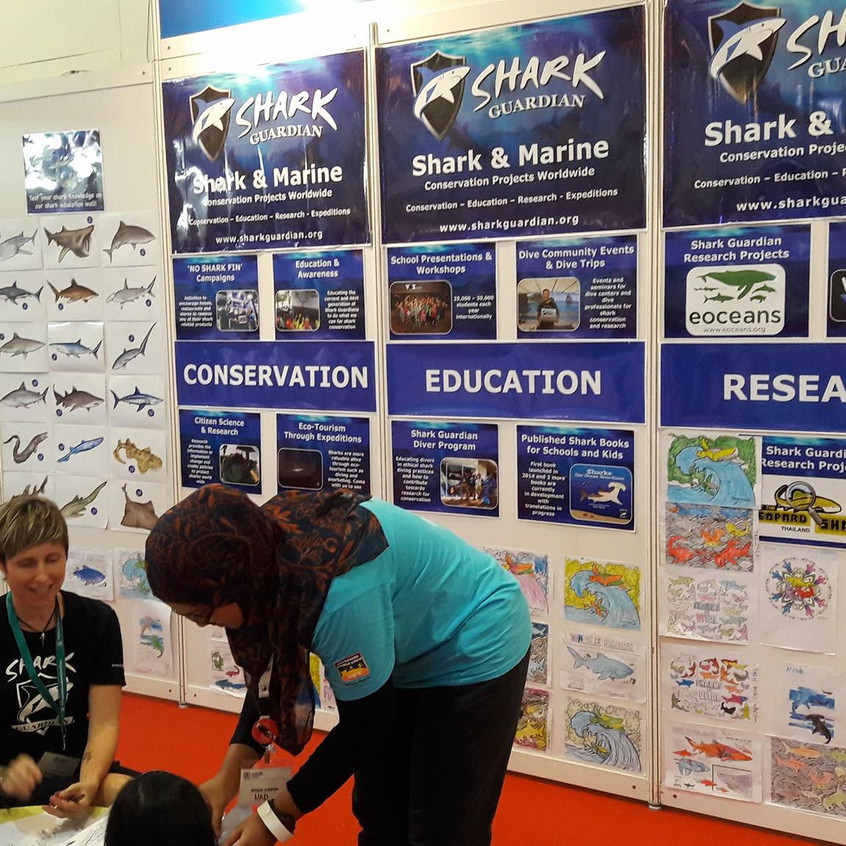 The Shark Guardian Kids zone section at MIDE 2018