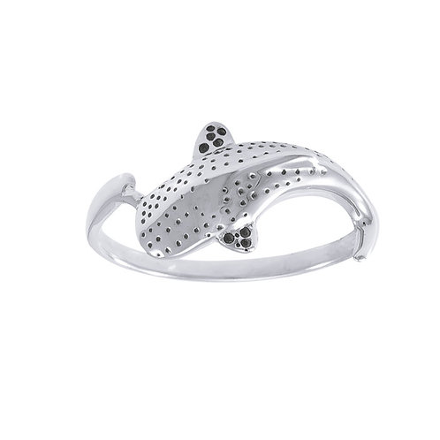 Whale Shark Sterling Silver Ring