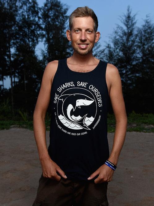 Save Our Sharks Mens Vest