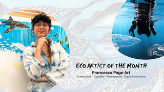 June Eco-Artist: Francesca Page Art