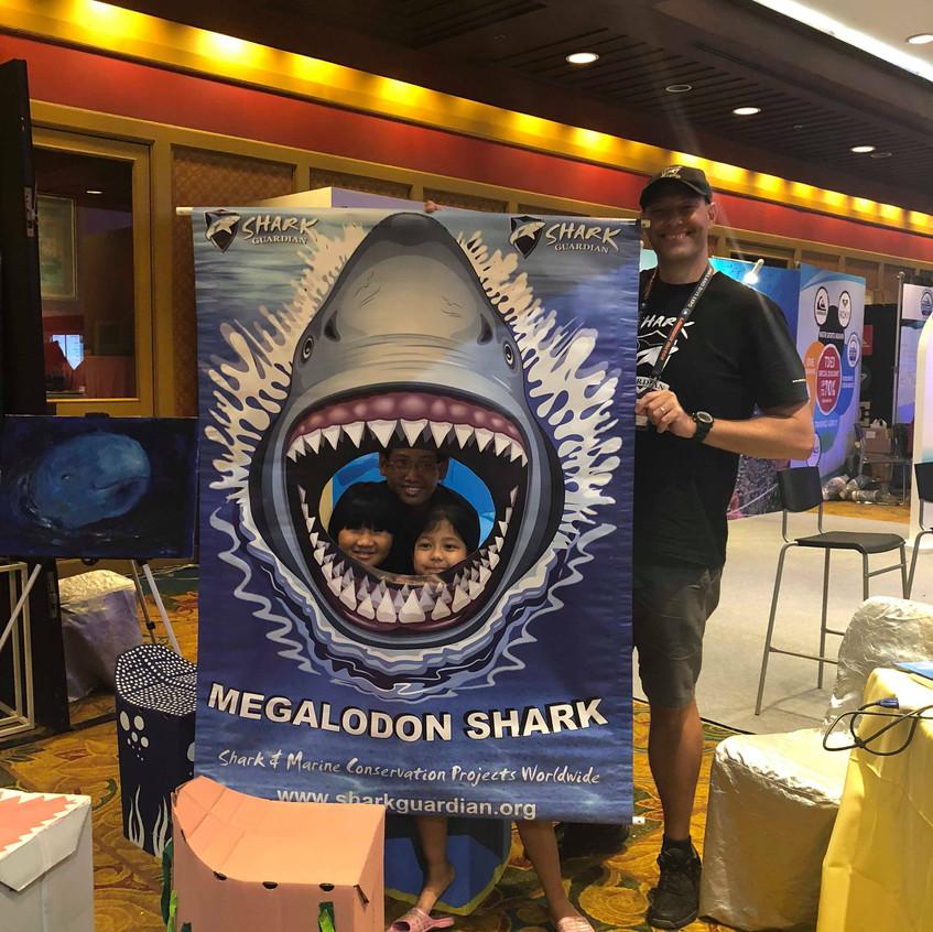 Bangkok got a taste of the Megalodon Shark too!