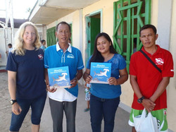 Donated Shark book in Philippines