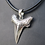 Thumbnail: Silver Shark Tooth Pendant