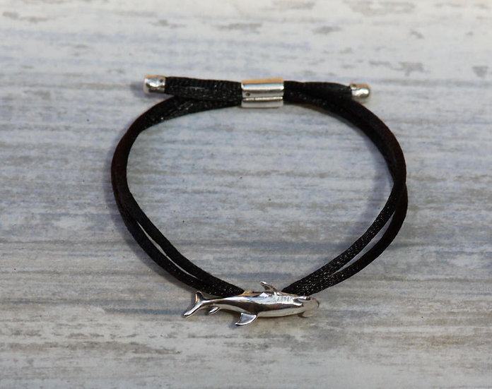 Silver Hammerhead Bracelet