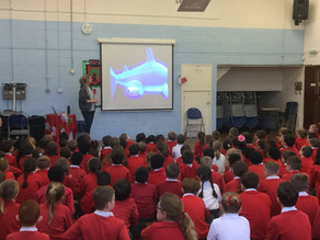 UK School hosts Shark Guardian