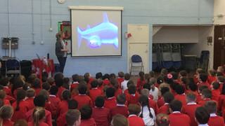 UK School hosts Shark Guardian