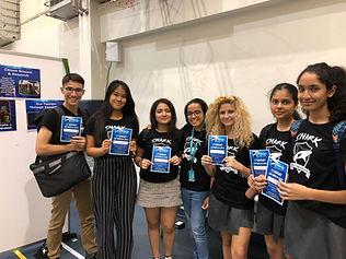 Student Ambassadors in Bangkok October 2
