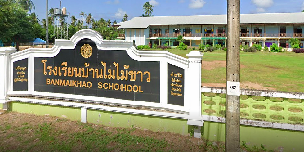 Ban MaiKhao School Presentation