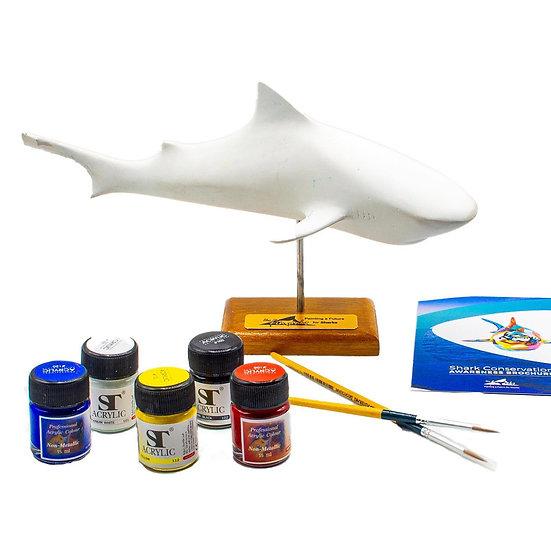 Shark Sculpture To Paint