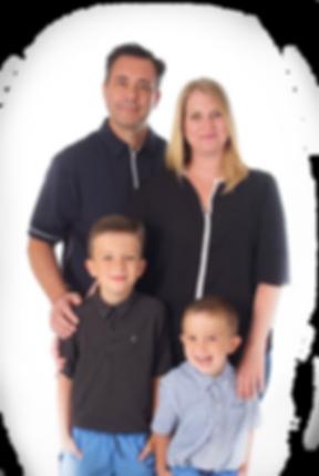 Denturist Massimo Palummieri and family