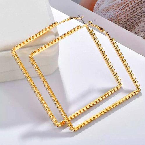 Gold Digger hoops