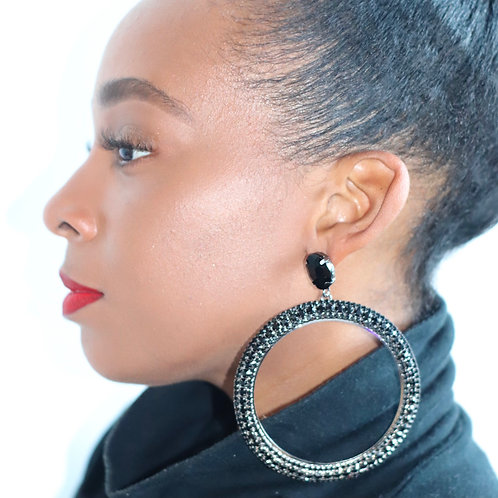 Black jeweled
