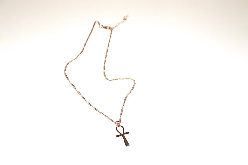 Extended Goddess Ankh Necklace