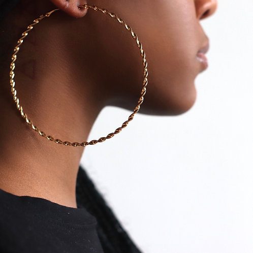 Hoolahoops  comes in gold and silver click pic to view