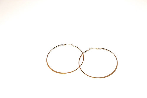 Classic hoops  comes in gold and silver click pic to view