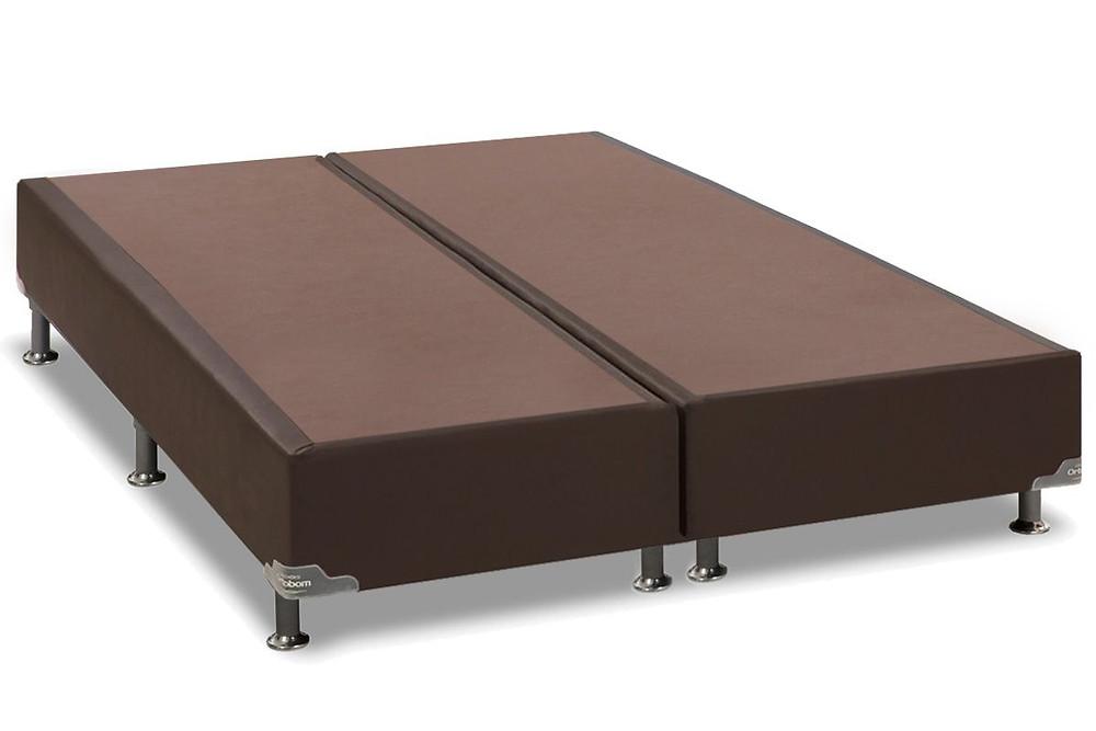 cama box conjugado marrom