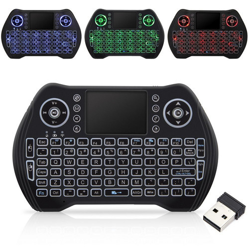 ZBOXtv Upgraded Bluetooth 2 4 Wireless Keyboard & Air Remote