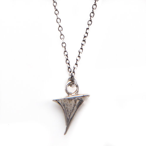 Rose Thorn Necklace | Thorn Jewelry | Silver Thorn Pendant | Silver Spike Necklace