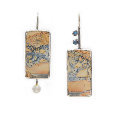 Stormy Mountain Earrings