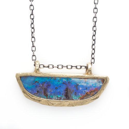 Austrailian Boulder Opal Necklace