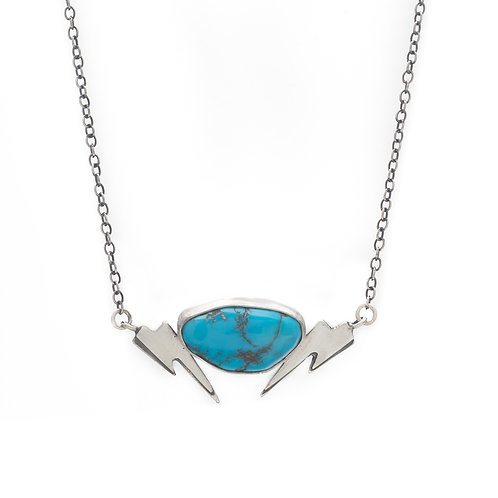 Turquoise Bolt Necklace