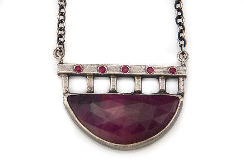 Ruby Bridge Necklace