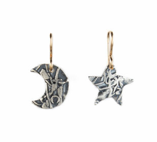 Mini Star and Moon Earrings