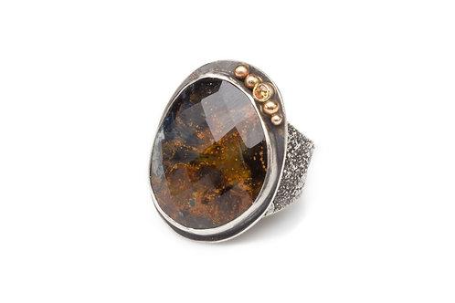 Velvet Earth Ring
