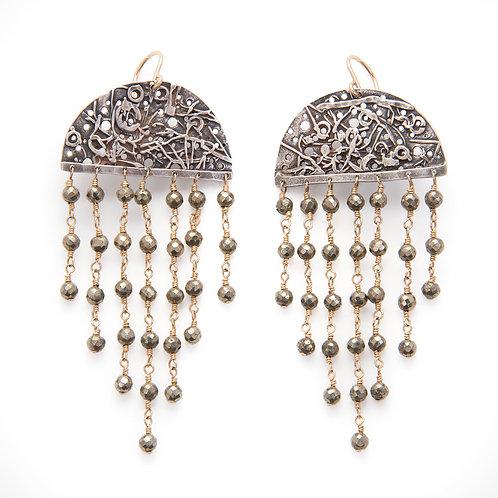 Large Shimmer Earring