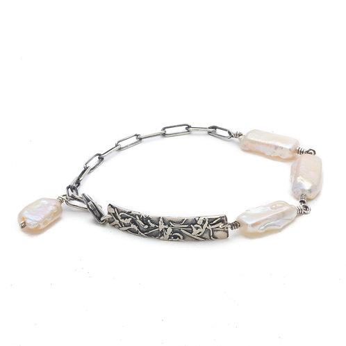 Stick Pearl Bracelet