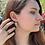 Thumbnail: Jacaranda Leaf Earrings