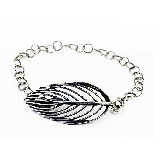 Delicate Feather Bracelet