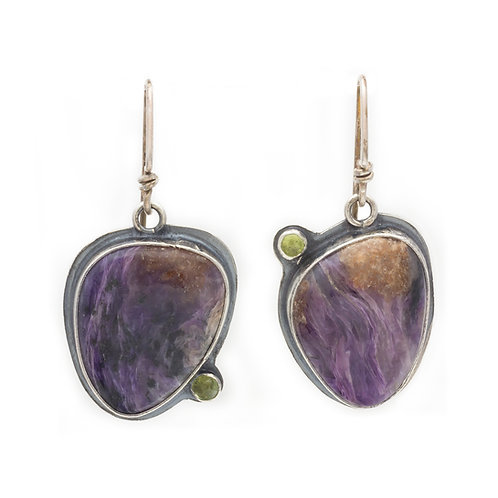 Jacaranda Blossom Earrings
