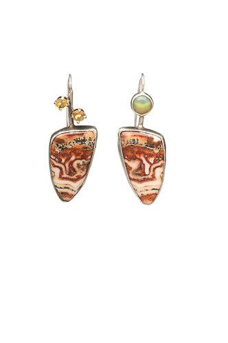 Golden Landscape Earrings