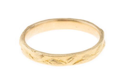 Garden Band Ring